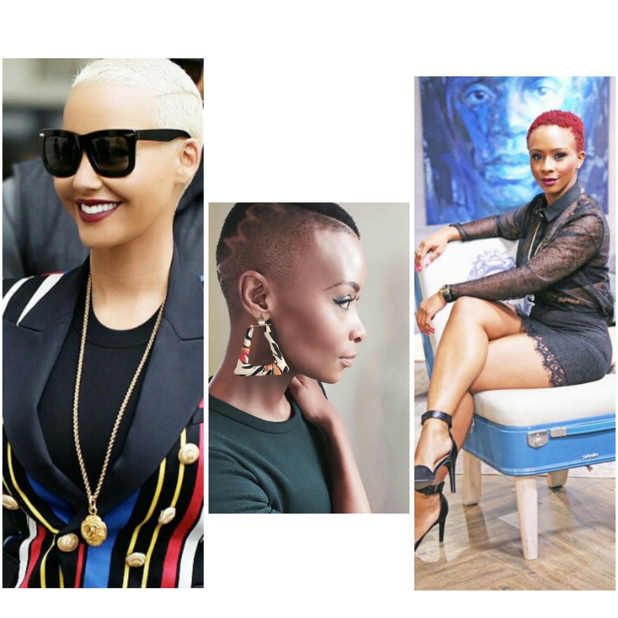 Different Fabulous Low Cut Hairstyle Options - Yaa Somuah