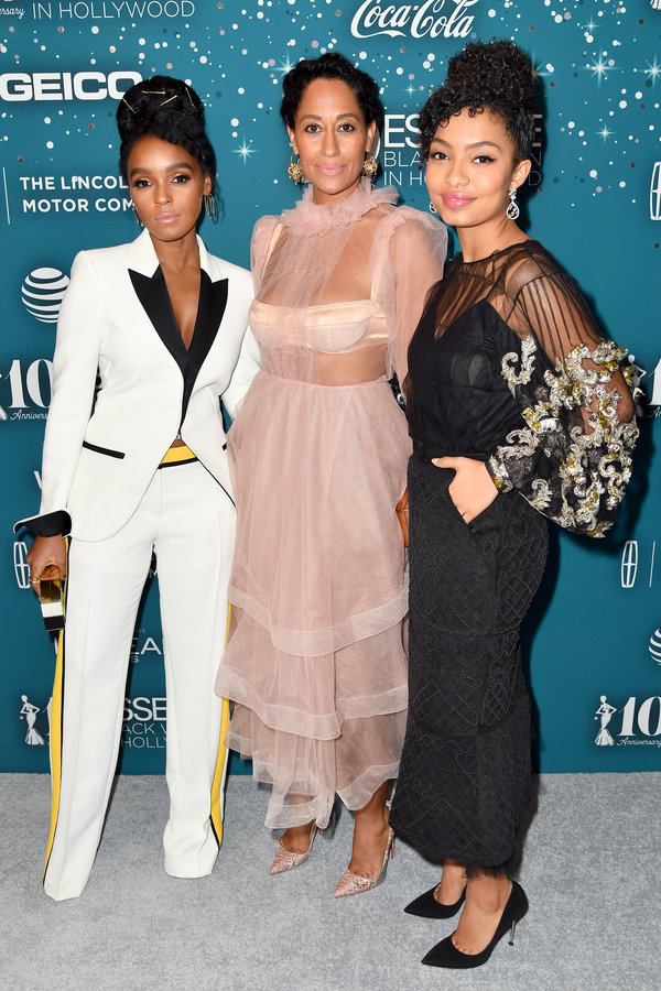 Essence Black Women In Hollywood Awards - Red Carpet